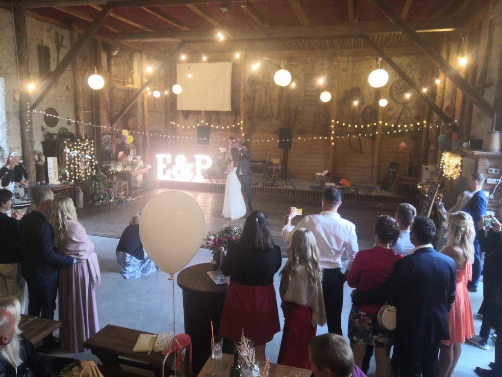Svatba na statku Vletice a svatební zábava