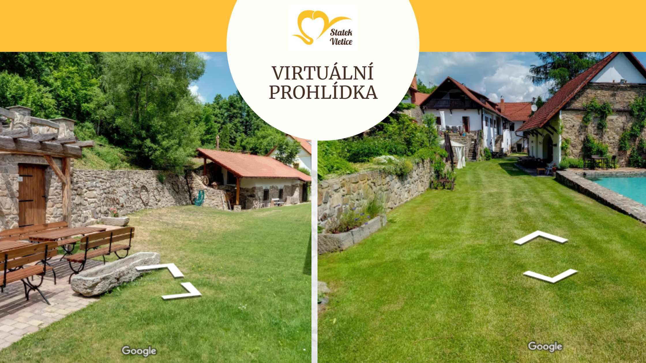 Virtuální prohlídky statku Vletice